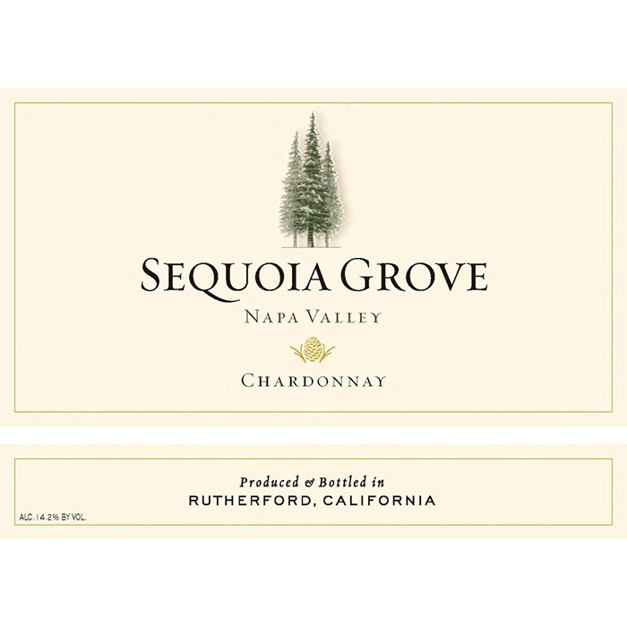 Sequoia Grove Napa Valley Chardonnay 2017 (750ML)