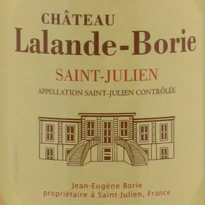 Lalande Borie 2018 (750ML)