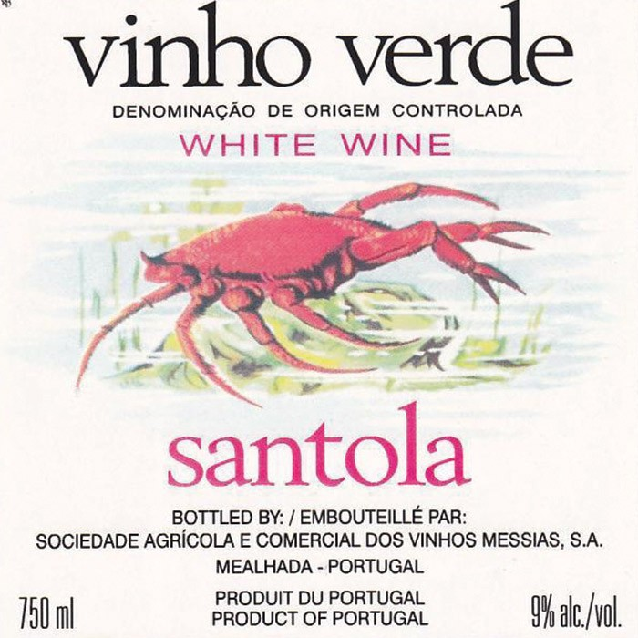 Vinho Verde Santola Caves Messias (750ML)