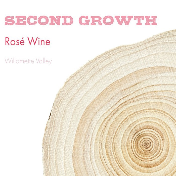 Second Growth Willamette Valley Rose 2018 (750ML)