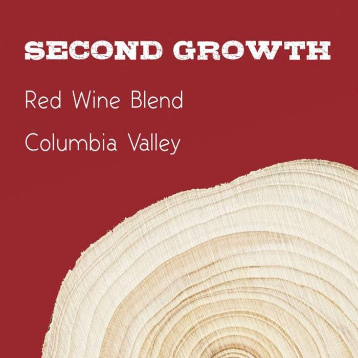 Second Growth Columbia Valley Red Blend 2016 (750ML)