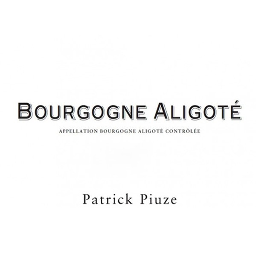 Bourgogne Aligote Piuze 2018 (750ML)