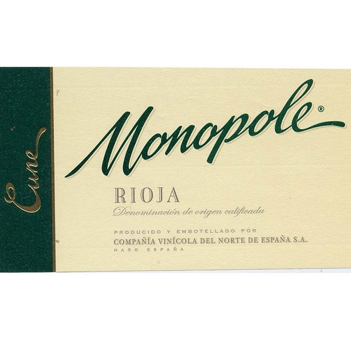 Cune Monopole Rioja Blanco (CVNE) 2018 (750ML)