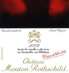 Mouton Rothschild 2009 (98JS) (750ML)