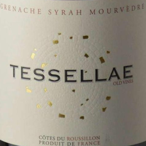 Cotes du Roussillon Tessellae Old Vines Domaine Lafage 2017 (750ML)