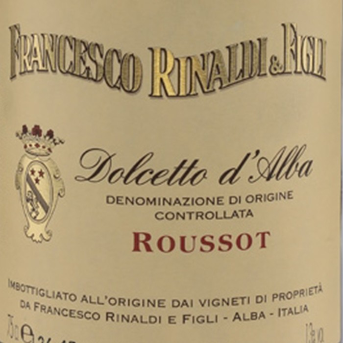 Dolcetto d`Alba Roussot Francesco Rinaldi 2017 (750ML)