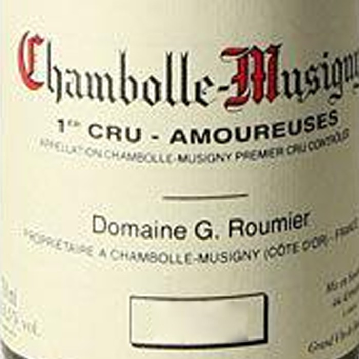 Chambolle Musigny Amoureuses Georges Roumier 2017 (750ML)