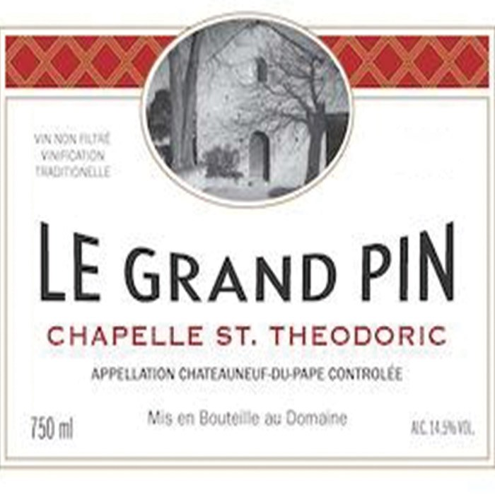 Chapelle Saint Theodoric Chateauneuf-du-Pape Le Grand Pin 2016 (750ML)