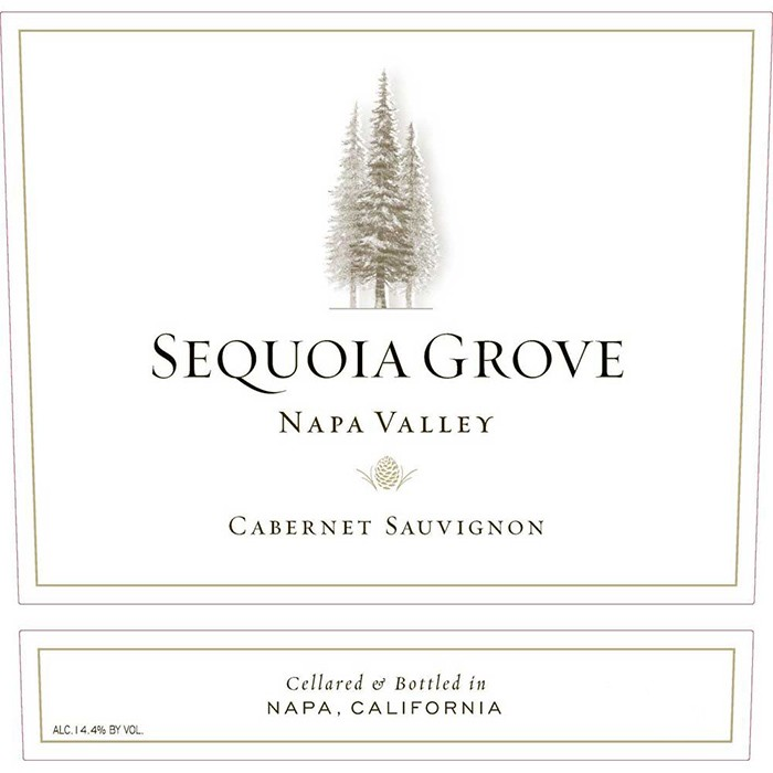 Sequoia Grove Napa Valley Cabernet Sauvignon 2016 (750ML)