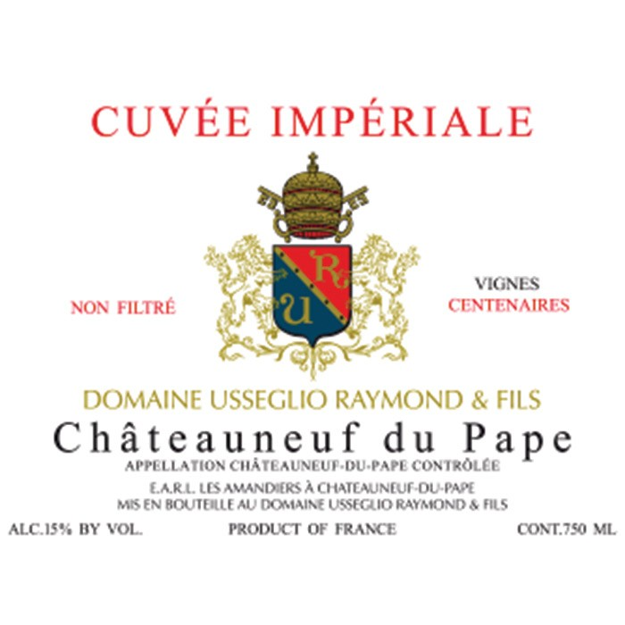 Chateauneuf du Pape Cuvee Imperiale Raymond Usseglio 2017 (750ML)