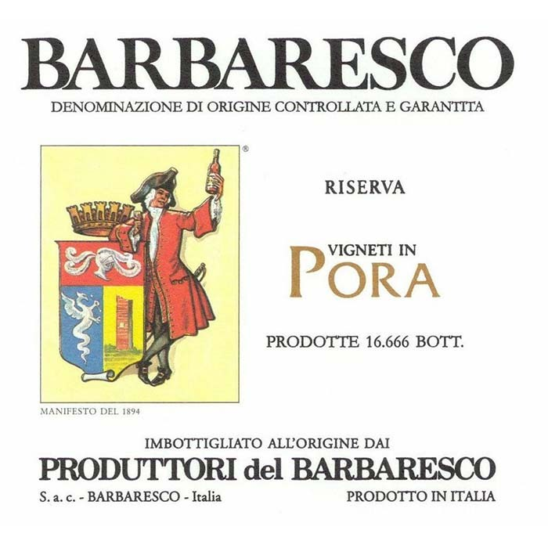 Barbaresco Pora Riserva Produttori del Barbaresco 2014 (750ML)