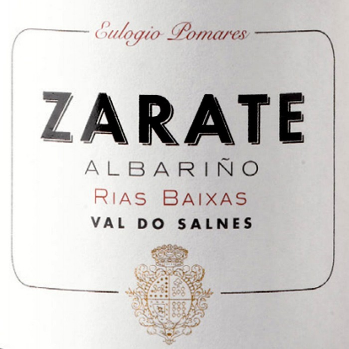 Zarate Albarino Rias Baixas 2018 (750ML)