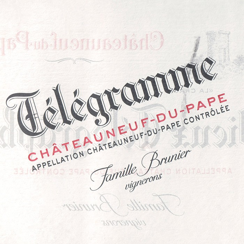 Chateauneuf du Pape Telegramme Vieux Telegraphe 2017 (750ML)