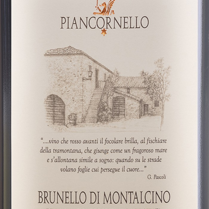 Brunello di Montalcino Piancornello 2015 (750ML)