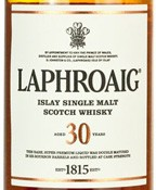 Laphroaig 30 Year Old Single Malt Scotch LTD 107 1985 (750ML)