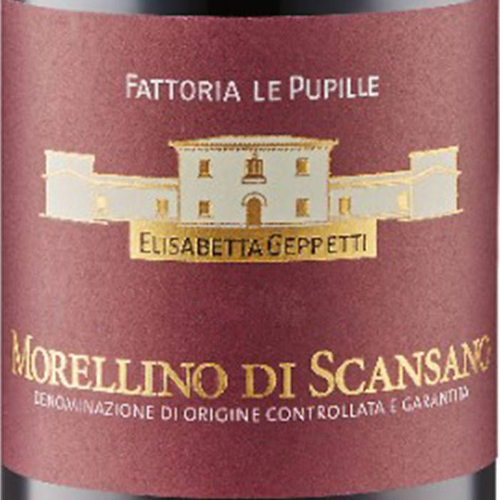 Morellino Di Scansano Le Pupille 2018 (750ML)