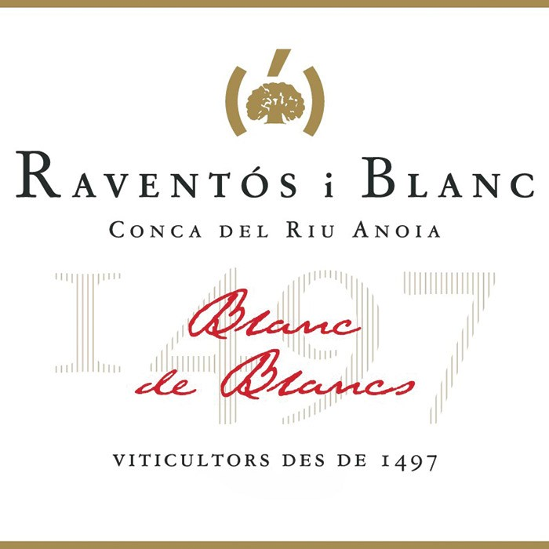 Raventos i Blanc Blanc de Blancs 2017 (750ML)