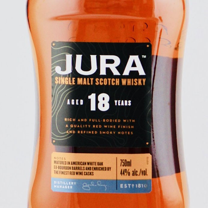 Isle of Jura 18 Year Old Single Malt Scotch (750ML)