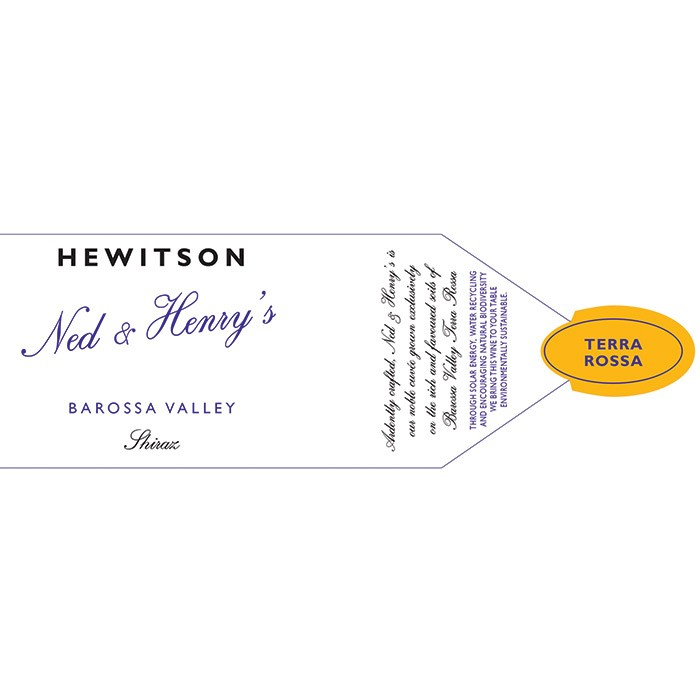 Hewitson Ned & Henry's Shiraz 2017 (750ML)