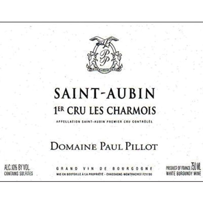 St. Aubin Charmois Paul Pillot 2018 (750ML)