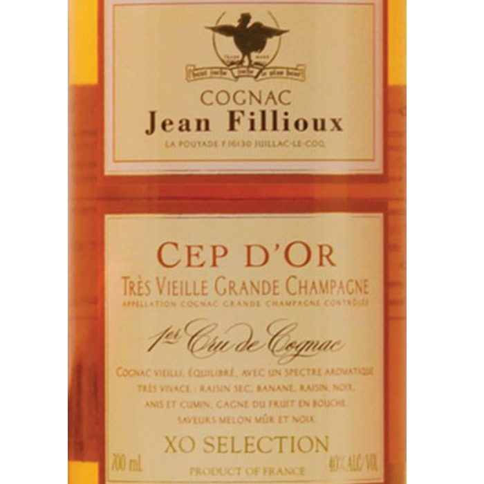 Jean Fillioux Cep d'Or Cognac 12yr (750ML)