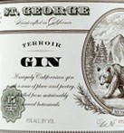St George California Terroir Gin (750ML)