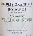 Chablis Bougros Cote de Bouguerots William Fevre 2018 (750ML)