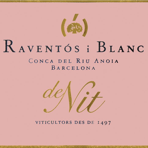 Raventos I Blanc De Nit (Rose Cava) 2017 (750ML)