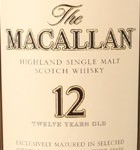Macallan Single Malt 12 Yr Scotch (750ML)