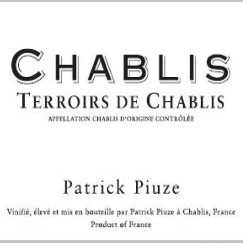 Chablis Terroir de Chablis Piuze 2019 (750ML)