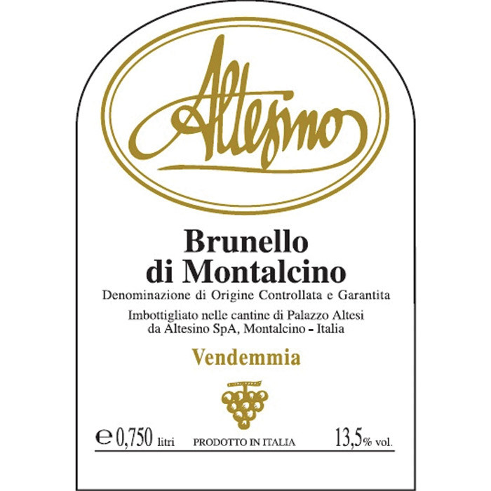 Brunello di Montalcino Altesino 2016 (750ML)