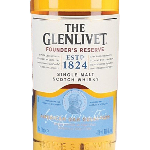 Glenlivet Founders Reserve Single Malt Scotch (750ML)