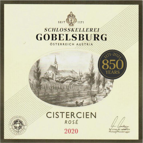 Rose Schlosskellerei Cistercien Schloss Gobelsburg 2020 (750ML)