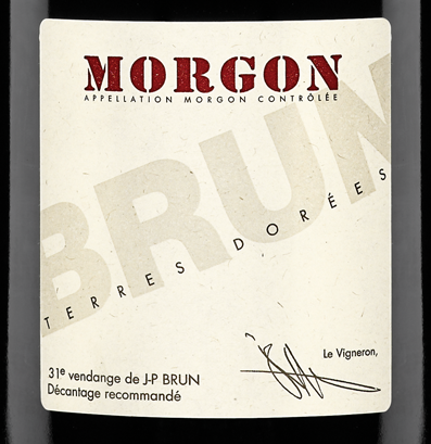 Morgon Terres Dorees (Jean Paul Brun) 2018 (750ML)