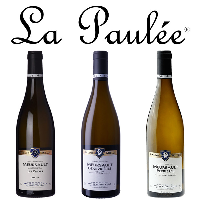 La Paulée Presents the Domaine Ballot-Millot 3-bottle Producer Pack