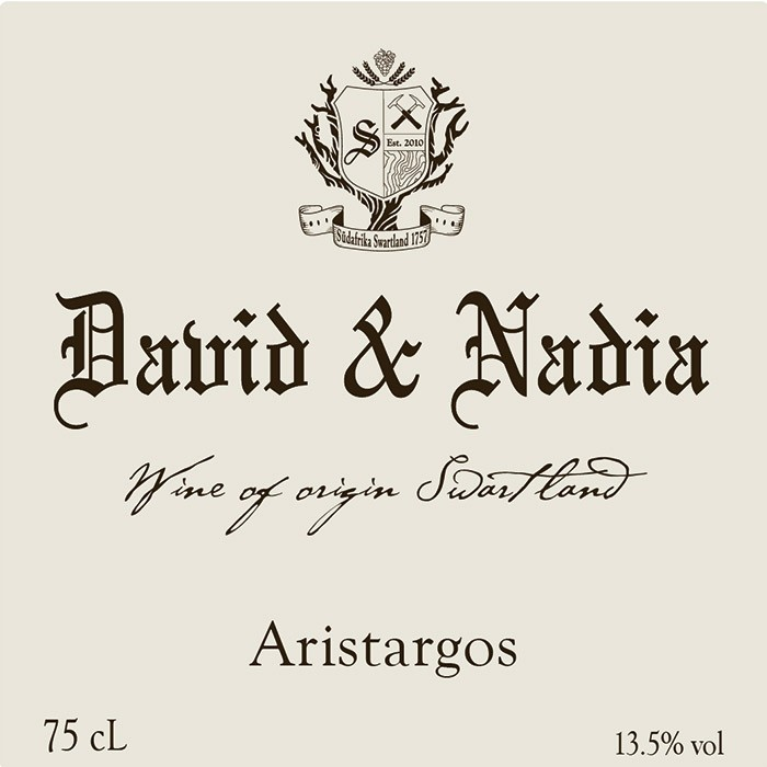 Swartland Aristargos David Sadie 2015 (750ML)