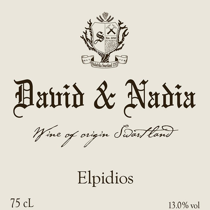 Swartland Elpidios David Sadie 2014 (750ML)