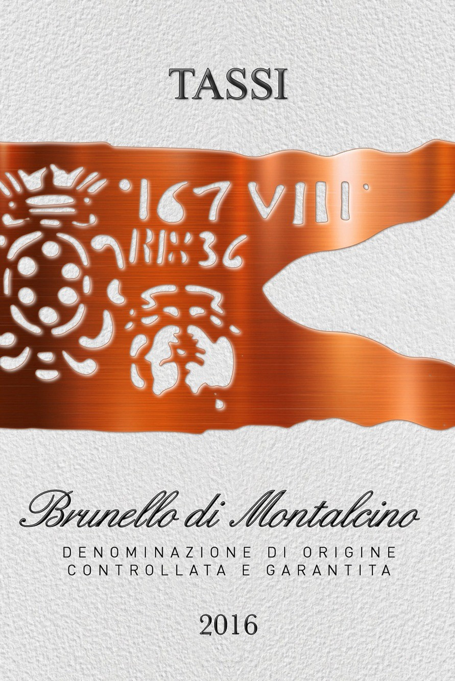 Brunello di Montalcino Tassi 2016 (750ML)