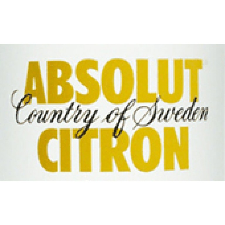 Absolut Citron Vodka (1L) image #1