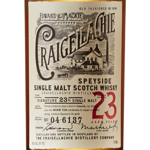 Craigellachie 23 Year Old Single Malt Scotch (750ML) image #1