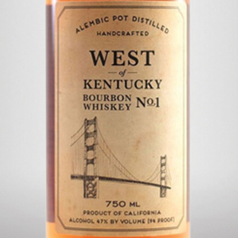 Sonoma County Distilling West of Kentucky Bourbon No. 1 (750ML) image #1