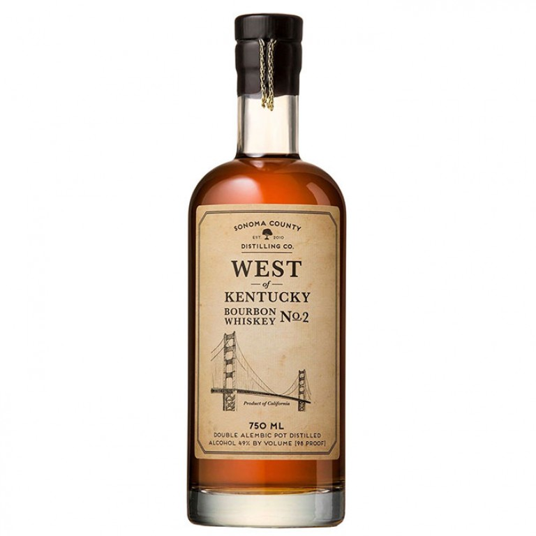 Sonoma County Distilling West of Kentucky Bourbon No. 2 (750ML) image #1