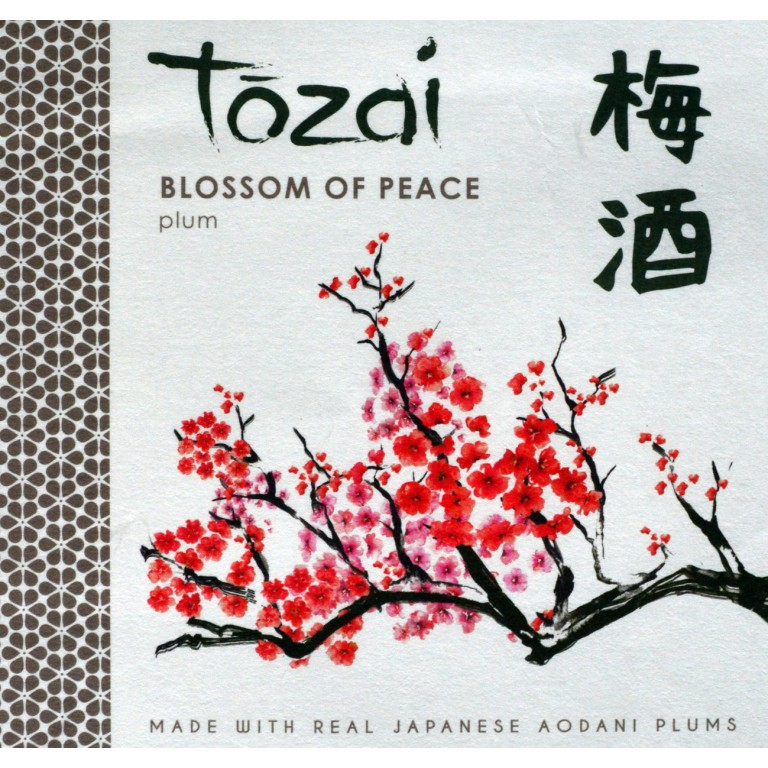 Tozai Blossom of Peace Umeshu [Plum sake] (720ML) image #1