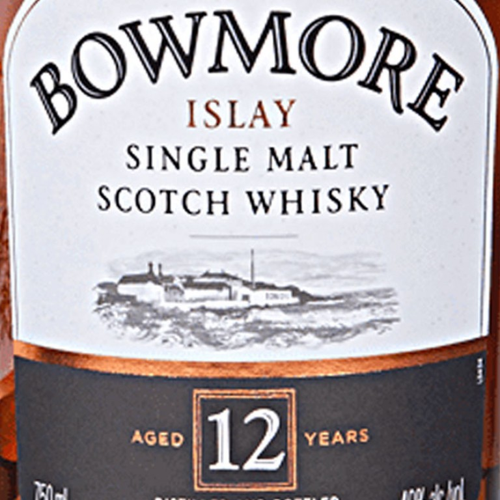 Bowmore 12 Year Old Single Malt Scotch (750ML) image #1