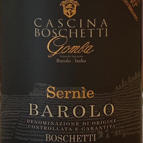 Barolo Sernie Cascina Boschetti Gomba 2014 (1.5L) image #1