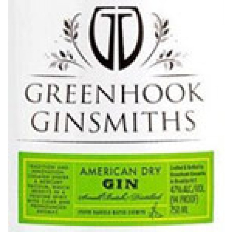 Greenhook Ginsmiths American Dry Gin (**NYT) (750ML) image #1