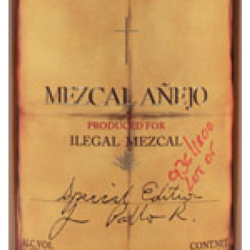 Ilegal Anejo Mezcal  (750ML) image #1