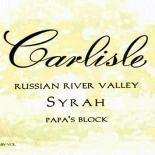 Carlisle Syrah Papa`s Block 2017 (750ML) image #1