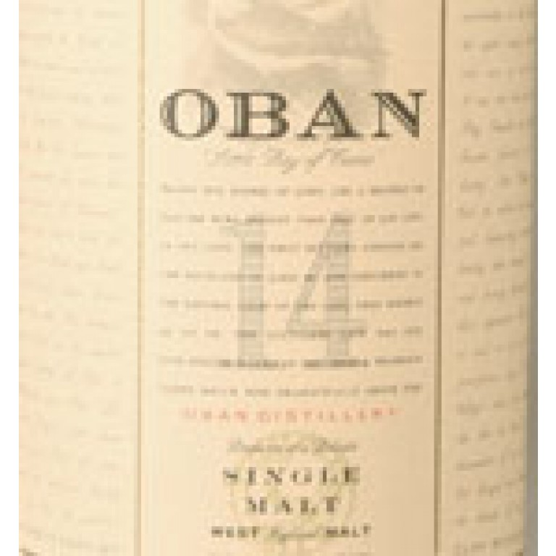 Oban 14 Year Old Single Malt Scotch (750ML) image #1
