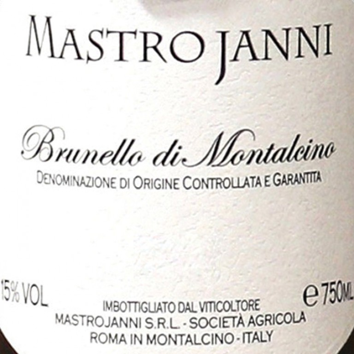 Brunello di Montalcino Mastrojanni 2015 (750ML) image #1